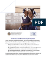 Teacher Capacity Building in Haiti