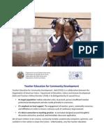 Teacher Capacity Building in Haiti