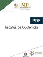 Fiscalías del MP Guatemala