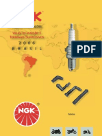 Velas da ignaçao Ngk Brasil