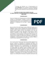 Acuerdo Directivo 9-2005 SAT
