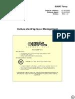 Culture d Entreprise Et Management