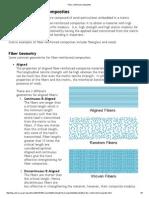 Fiber Reinforced Composites