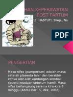 Asuhan Keperawatan Post Partum Fisiologis