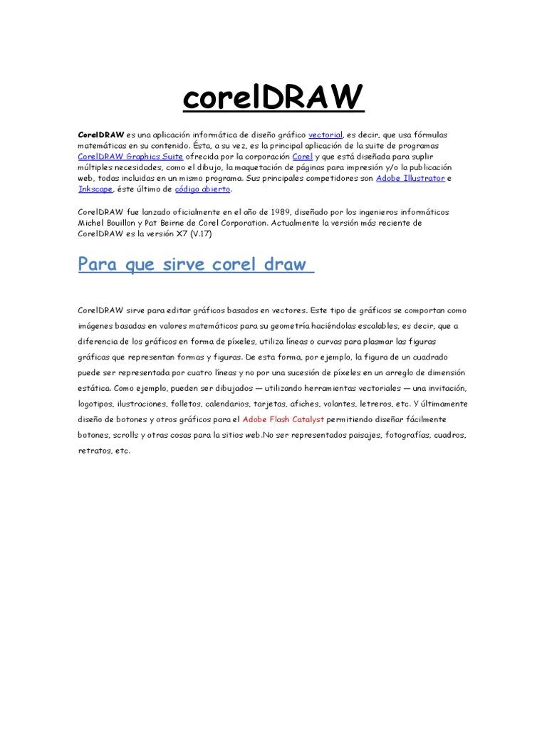 descargar manual de corel draw x en espaol pdf with tutorial de corel draw  x6