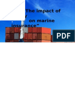 Analyse the Impact of Piracy on Marine Insurance