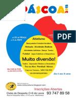 Ficha Insc PÁSCOA2015