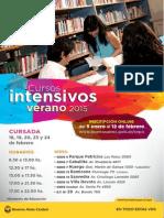 Cursos intensivos CEPA verano 2015