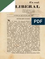 El Liberal N° 1 al 25 (1823-1824)