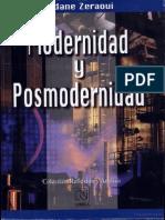 LIBRO, Zidane Zeraoui, Modernidad y Posmodernidad