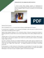 Artistas Guatemaltecos y Sus Obras de Arte Plástico