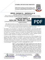 BÁSICO - MÓD II - AULA 26 - Tipologia Bíblica Em Êxodo (F)