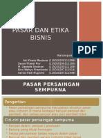 pasar dan Etika bisnis