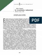 Julio Segura - Teoria de La Economia Industrial