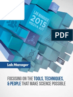 2015 Lab Manager Media Kit