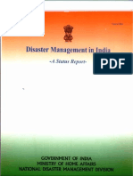 Disaster Management in India - A Status Report - August 2004