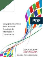 Uso y aprovechamiento de las Aulas con Tecnología de Información y Comunicación