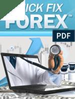 Quick Fix Forex Manual