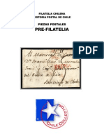 Filatelia Chilena. Historia Postal de Chile. Piezas Postales. Pre-filatelia