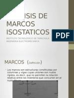 Analisis de Marcos Isostaticos