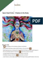 Chakras in the Body - Ram Dass