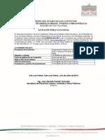 Convocatoria N58-20142