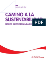 Reporte Sustentabilidad Lindley 2011 2012