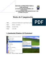 Redes Informe1 Maquina Virtual