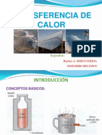 Transferencia de Calor Introduccion