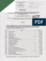 Proyecto de Acuerdo No 001 ( Enero 30 de 2015 )
