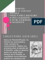 Presentacion de Carlos Marx2