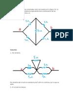 Ejercicio de circuito de 5 Resistencias