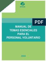 Manual de vountariado juvenil