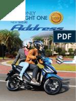 Suzuki Address Brochure