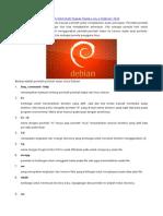Perintah - Perintah Dasar Debian Text