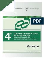 4to Congreso Internacion de Invetigacion