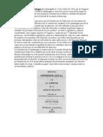 Constitución de Cadiz y de Apatzingan