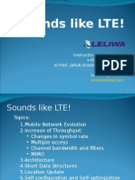 Sounds Like LTE