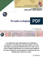 Ambientalismo y Pogreso Económico
