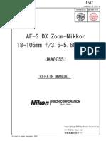 Nikon Af-s Dx Zoom-nikkor 18-105mm Repair