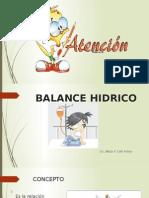 Balance Hidrico Betzy