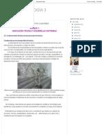 BLOG de TECNOLOGÍA 3_ Bloque 3_ Innovación Técnica y Desarrollo Sustentable