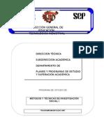 Metodos y Tecnicas de Investigacion Social I-2007