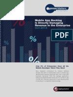 OutSystems Mobile Trend Statistics Survey 2014