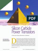 SiC PowerTransistors