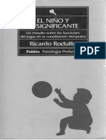 El Niño y El Significante-Ricardo Rodulfo