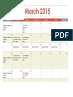 sai ws calendar