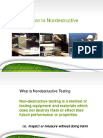 Introduction to Ndt Basic