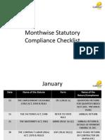 Contract Labour Compliance Checklist