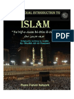 Islam- Introduction - By Sheikh Ali Tantawi